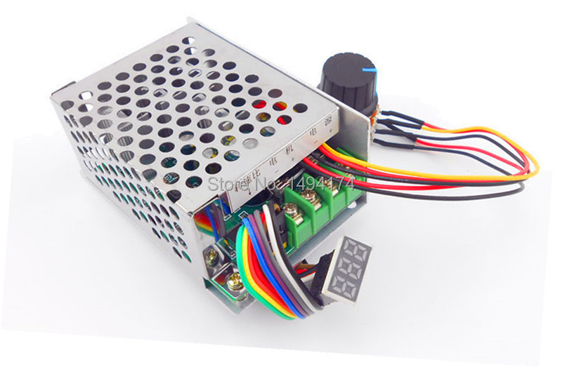 Hospitable Wqscosea Q8s-244 30a Dc 6v-60v 6v 9v 12v 24v 36v 48v 60v Variable Pwm Speed Motor Hho Rc Control Controller With Display Switch Buy Now Computer & Office