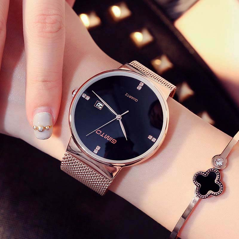 Buy gimto 218 wristwatch women watch ladies quartz lady clock bracelet fashion for Celebrity watches 2019 women