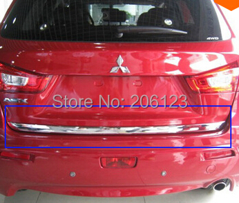 ABS Chrome Rear Trunk Lid Cover Trim For 2010-2012for Mitsubishi ASX