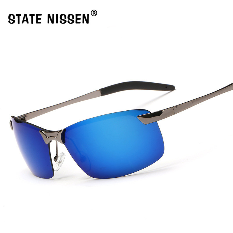 Состояние Ниссен Для мужчин Спорт Поляризованные Солнцезащитные очки для женщин Для мужчин открытый Защита от солнца Очки Рыбалка Ретро му... ...