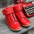 Новый Заклепки Хип-Хоп Мужская Обувь Марти n Повседневная Обувь Высокие Верхние Мужчины Сапоги Лос Zapatos де Hombre Спортивные Тренажеры