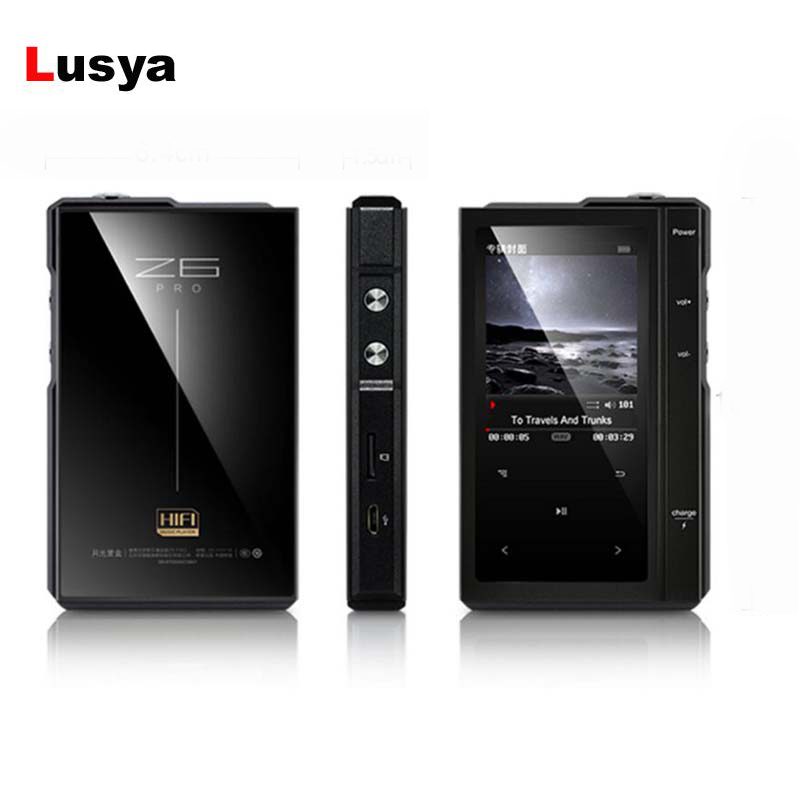 Tragbares Audio & Video Unterhaltungselektronik Honig Z6 Pro Hifi Musik Spieler Harter Dsd Mp3 Player Es9018q2c Dac Dual-core Cpu