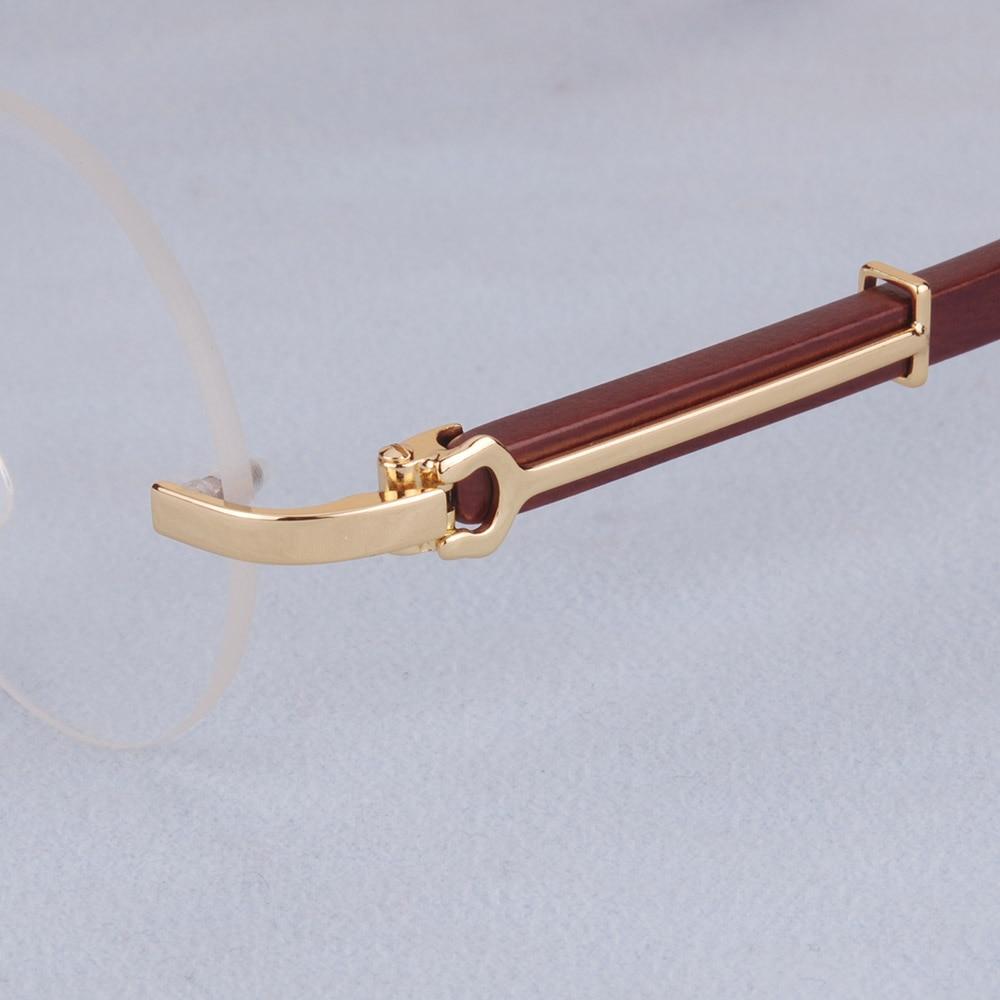 Mann 1 Anti Silber Männer Gold Silber 61 67 Brillen Gläser Runde Blau Rezept Marke gold Holz 1 Index Vazrobe fwIZ7qYxzn