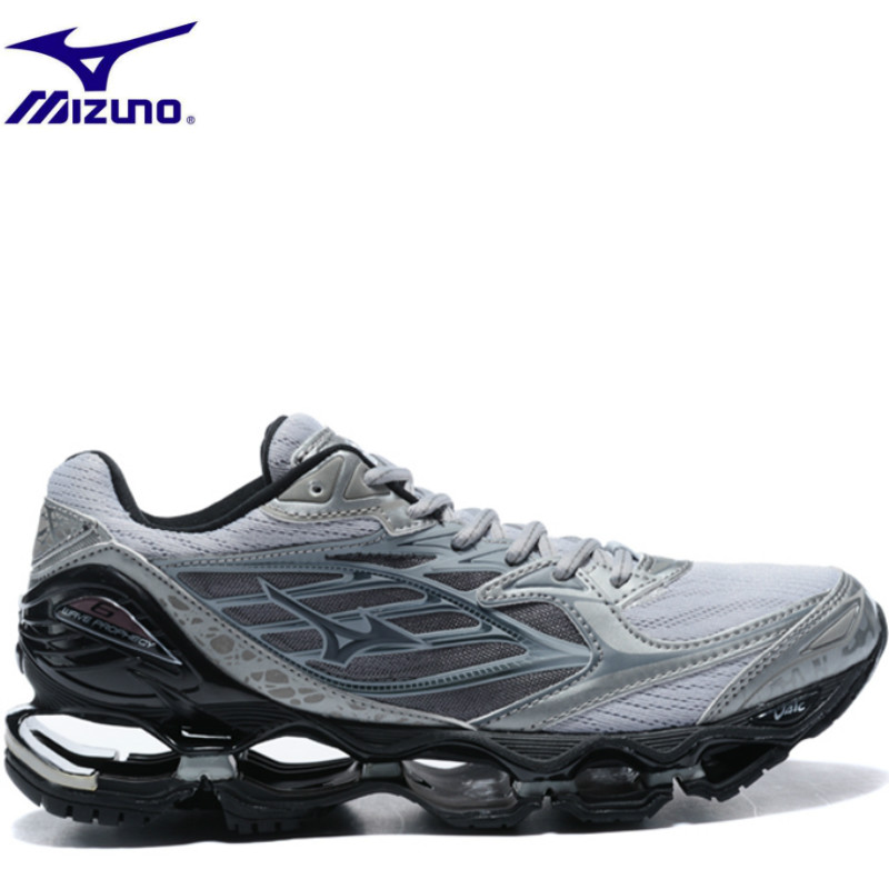 2018 Mizuno Wave Prophecy 6 Men shoes Lightweight sneakers Breathable Slip on Casual Shoes For adult