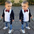 beautiful autumn children boy clothing set fashion brand baby boys clothes set T-shirt baby suit wholesale and retail