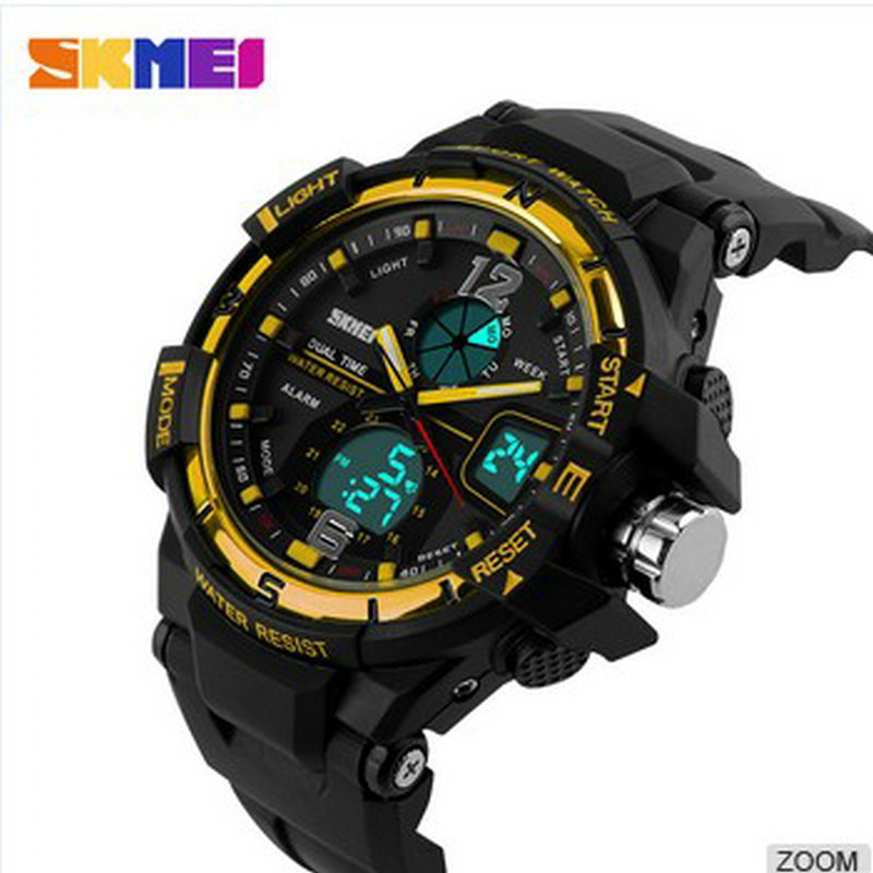 relojes de marca waterproof cold light sport watches