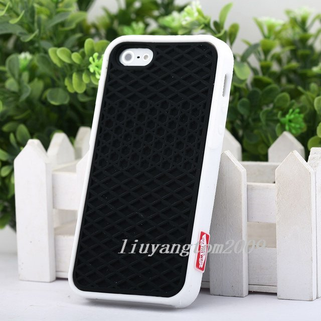 New Black Luxury Sports shoe soles Bumper soft silicone Case for iPhone 5 5G on Aliexpress.com