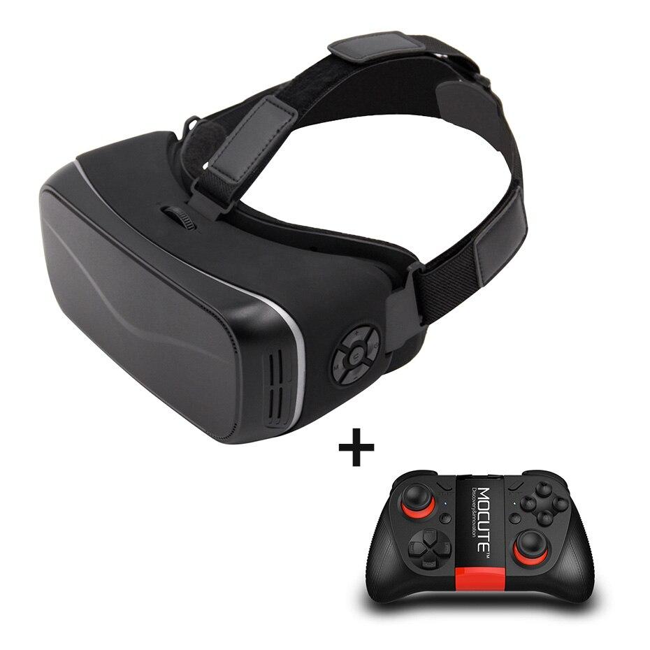 Vr casque vr box google lunettes en carton réalité virtuelle vr lunettes tout en un 2 k hdmi 2 GB/16 GB Android 6.0 bluetooth à distance