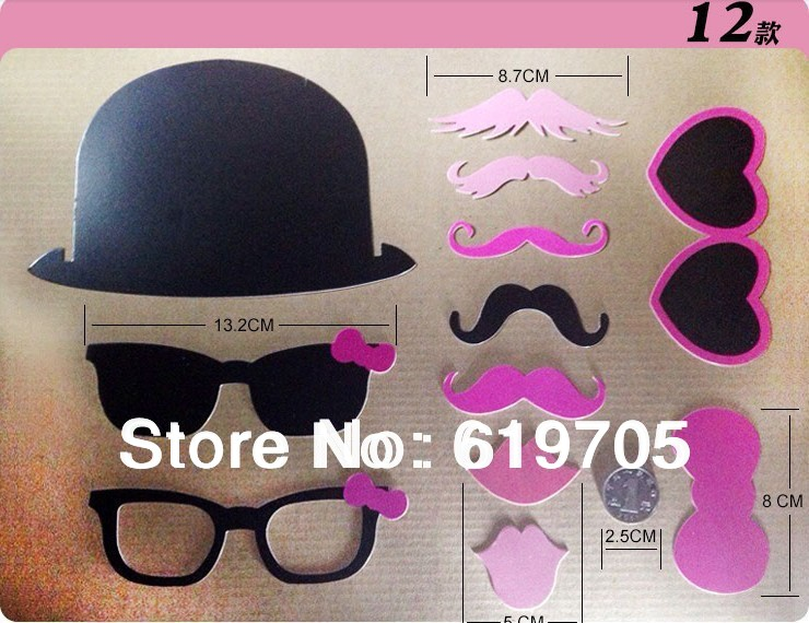 free shipping funny vintage theme mustache stick photo booth props new year birthday party wedding party fun favor xmas set on aliexpresscom alibaba