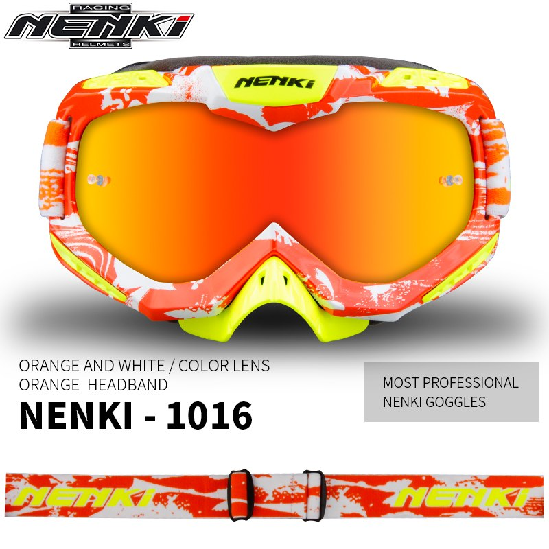 8f4f8b10c2b Dropwow NENKI Motocross Glasses Moto Men Women Motorcycle Glasses ...