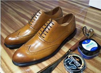 Handmade Leather Carved Brogue Shoes Flat heel Formal Suit Dress Shoe Wedding Party Oxfords