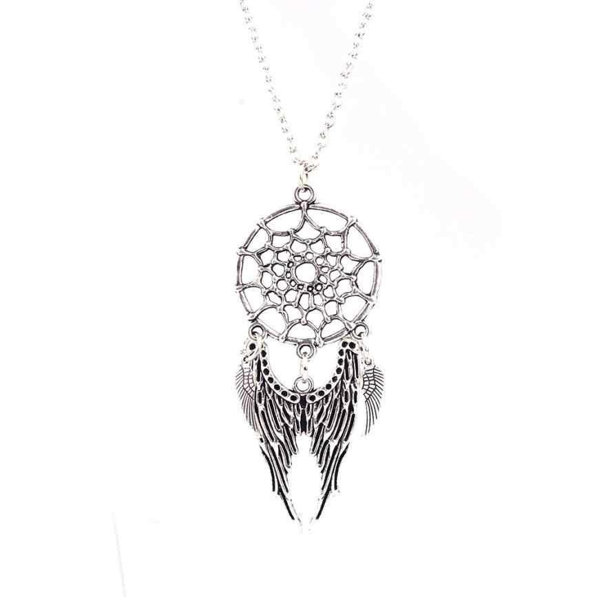Nowy męski naszyjnik damski klasyczny fason seksowna z kryształami naszyjnik z wisiorkiem z wilczym kłem prezent wykwintne ozdoby naszyjnik Chokers