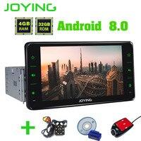 Радуясь официальный 8,0 ''android 6,2 автомобиль радио 4 ГБ оперативная память OCTA CORE 1 DIN gps сенсорный экран головное устройство стерео Carplay BT автомоб
