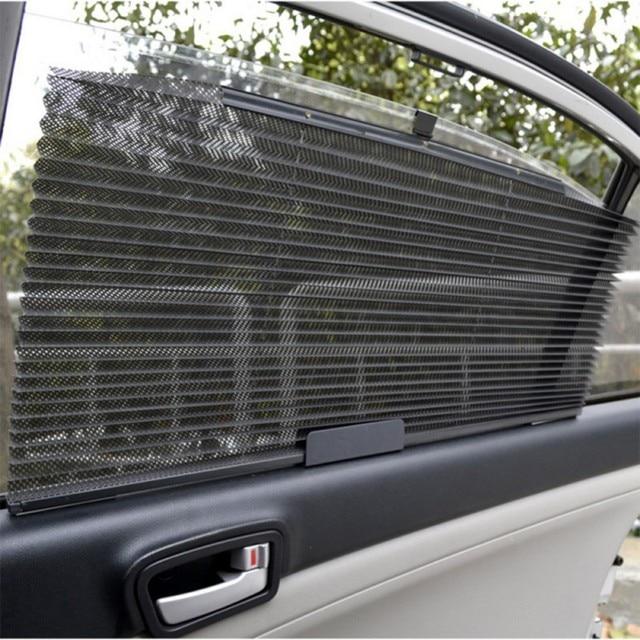 Najnowszy do samochodu do ciężarówek automatycznie chowana boczna kurtyna powietrzna osłona przeciwsłoneczna niewidomych osłona przeciwsłoneczna