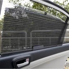 Yeni Araba Kamyon Oto Geri Çekilebilir Yan Pencere Perde Güneş Koruyucu Kör Güneşlik