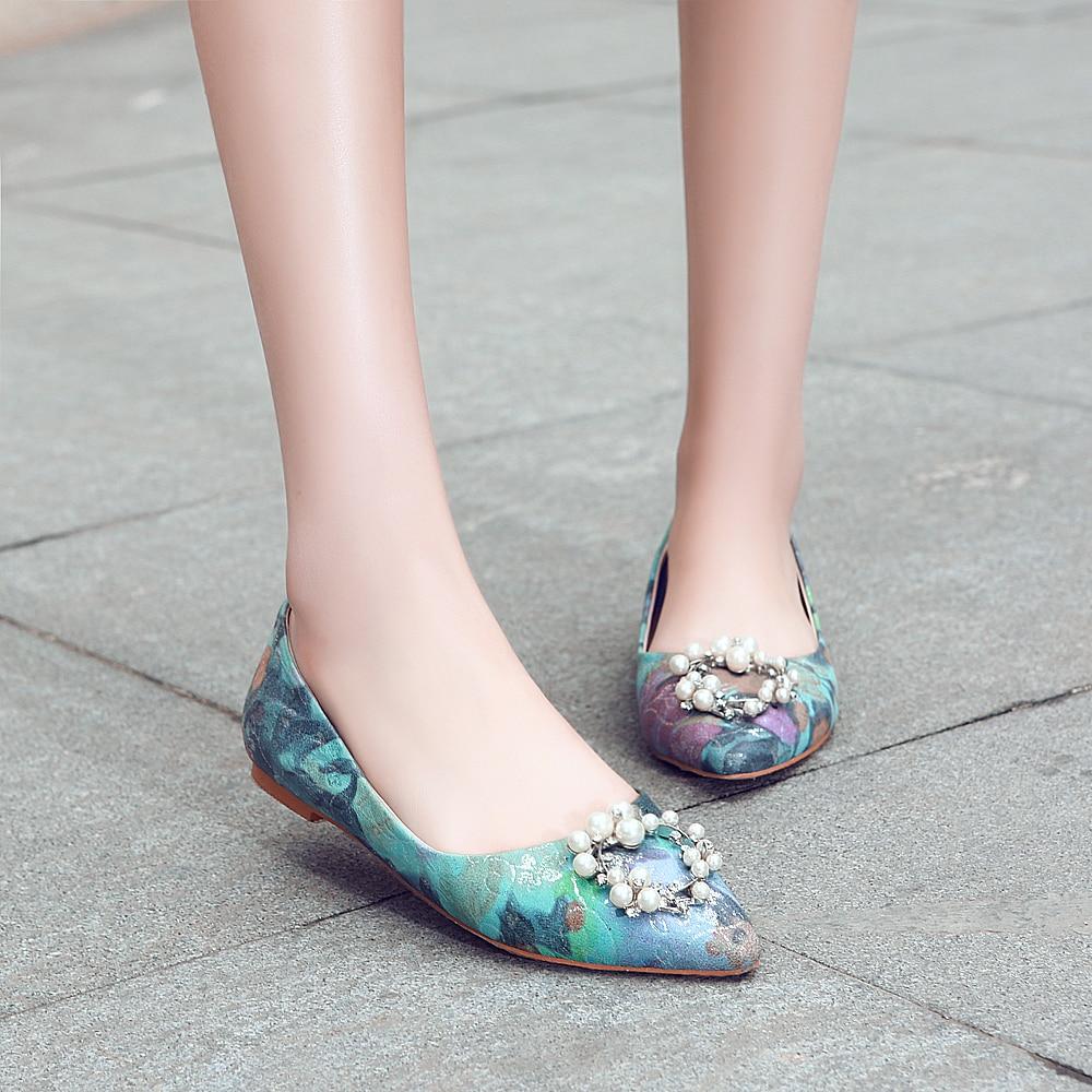 En Najaar Nieuwe Producten mannen Schoenen Koreaanse Ronde Hoofd mannen Casual Oxford Schoenen Leer Goud Geborduurde Dating schoenen - 6