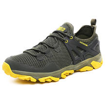 HUMTTO Size 39-46 Summer Hiking Shoes Outdoor Trekking Shoes Man Breathable Quick-dry Camping Sneakers Male Walking Sport Shoes