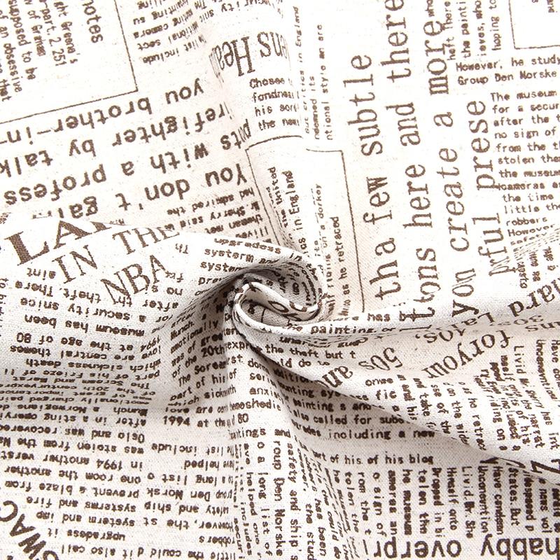 Popular Vintage Newspaper FabricBuy Cheap Vintage Newspaper