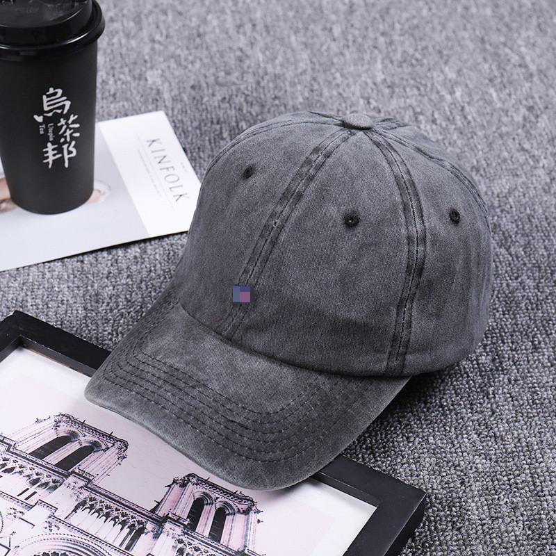 US $1 81 9% OFF|High Quality Washed Cotton Adjustable Solid Color Baseball  Cap Unisex Women Men Hats Couple Cap Fashion Brand Hat Caps Wholesale-in
