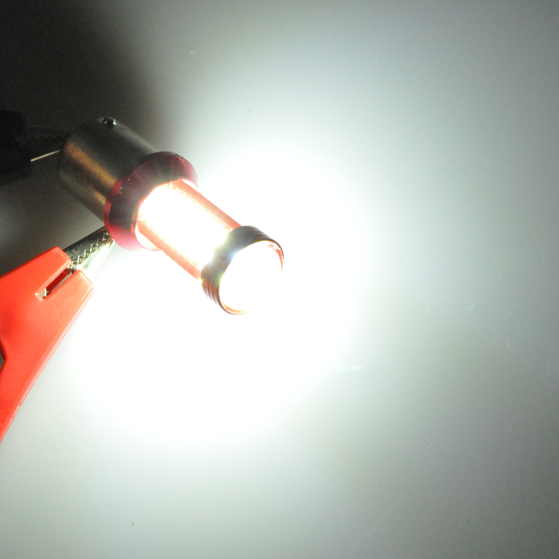 AutoEC 2x 1156 1157 78 SMD 4014 LED ba15s bay15d w21w w21 / 5w - Avtomobil işıqları - Fotoqrafiya 5