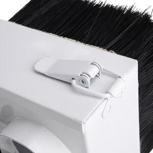 Image 4 - Пылесборник диаметром 65 мм/85 мм/100 мм/125 мм, пылесборник, щетка для ЧПУ шпиндельного двигателя, фрезерный станок, маршрутизатор, Деревообрабатывающие инструменты