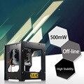 NEJE 500 mW laser mini cnc router cortador DIY cnc Gravador Do Laser Máquina de Gravação a laser USB Caixa Automático Off-linha com vidro