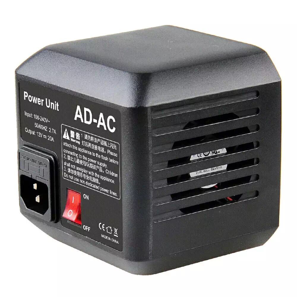 Godox AD-AC Power Source AC Wall Adapter Cable for AD600B AD600BM AD600M AD600 цена