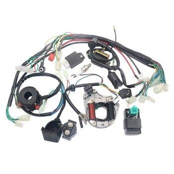 Arnés de cableado CDI de bobina de estátor eléctrico para 4 tiempos, ATV, KLX, 50cc, 70cc, 110cc, 125cc, Quad Bike, Buggy Go Kart, Pit Dirt Bikes