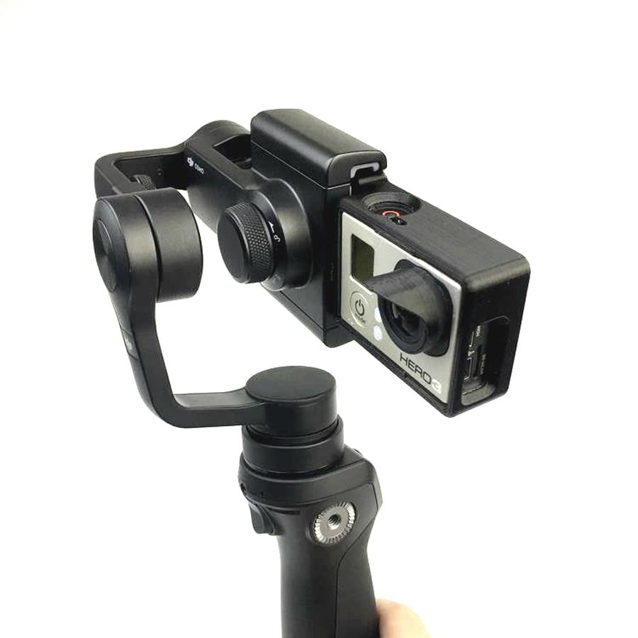 OSMO Turn Gopro3 Cardán Móvil 3 + 4 Adaptador de Interruptor de Placa de Montaje cámara parasol para la cámara dji gopro hero osmo zhiyun z1-smooth