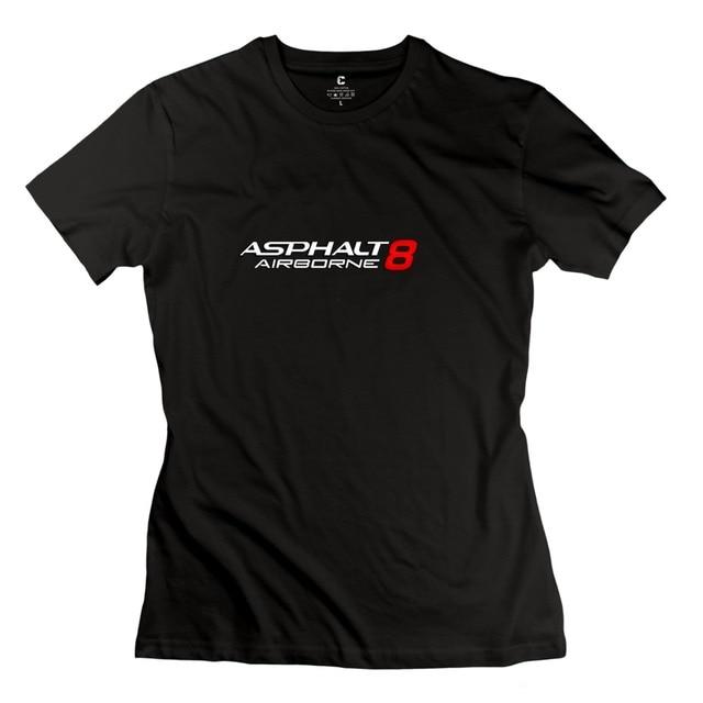 033de7a30dab2 casual Asphalt 8  Airborne women s tee shirt print o neck t shirt ...