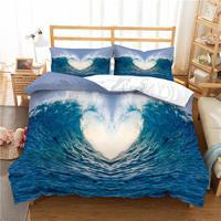 3D ocean surf bedding set duvet cover comforter bedding sets Home textile bedclothes US UK AU 13 Size surfing bed linen