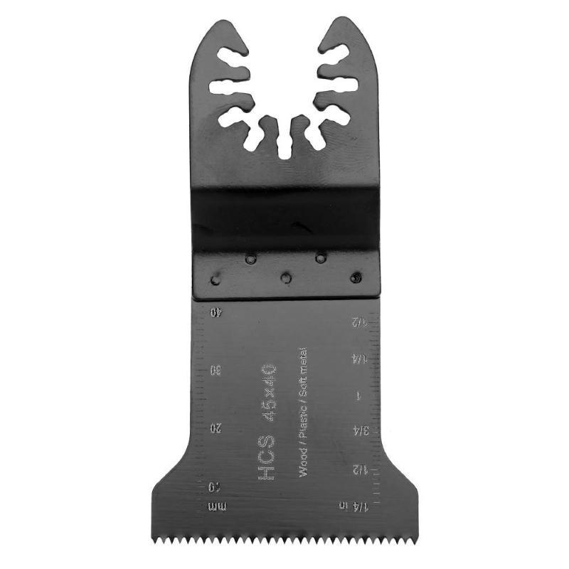HCS 90x45x1mm Oscillating Saw Blades Multi Tools Wood Metal Cutting Trimmer For Dremel Renovator Bosh Einhell Sawing Wood Tools