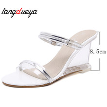 ac5340ec46 High Quality Gold Wedge Sandals Promotion-Shop for High Quality ...