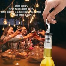 1 шт. вакуумная герметичная пробка для бутылки вина пресс пробка для вина колпачки посуда для бара пробка для бутылки вина кухонные инструменты