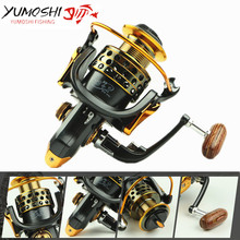 Yumoshi Full Metal wire cup All metal rocker arm 1000-7000 series spinning reel fishing reel