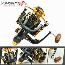 Yumoshi Full Metal wire cup All metal rocker arm 1000 7000 series spinning reel fishing reel