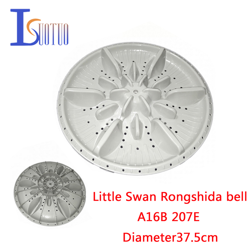 Ingenious Little Swan Rongshida Bell A16b 207e Automatic Washing Machine Impeller Vane 37.5cm Top Watermelons Laundry Appliance Parts Home Appliances