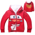 Neat retail Cars baby boy clothes long sleeve 2017 new style hoodie cotton children clothing 1854#