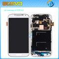 Tela de substituição para Samsung galaxy s4 exibição i9505 LCD com toque digitalizador com montagem de quadro de 1 PEÇA frete grátis