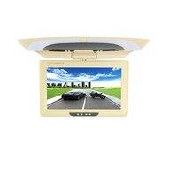 9 inch bus/auto/taxi TFT LCD dach Montage AV Monitor für DC 36V dual video eingänge beige farbe SH981
