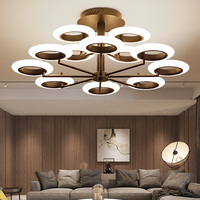 Modern LED chandelier ceiling Nordic fixtures bedroom suspended lamps loft illumination home lighting living room hanging lights