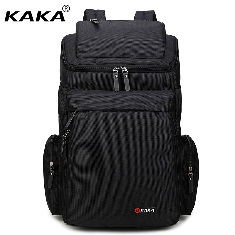 2017 New KAKA Brand Large Capacity Waterproof Nylon Travel Men s Backpacks  15.6 Laptop Male Backpacking Casual Luggage Bags 716b366783