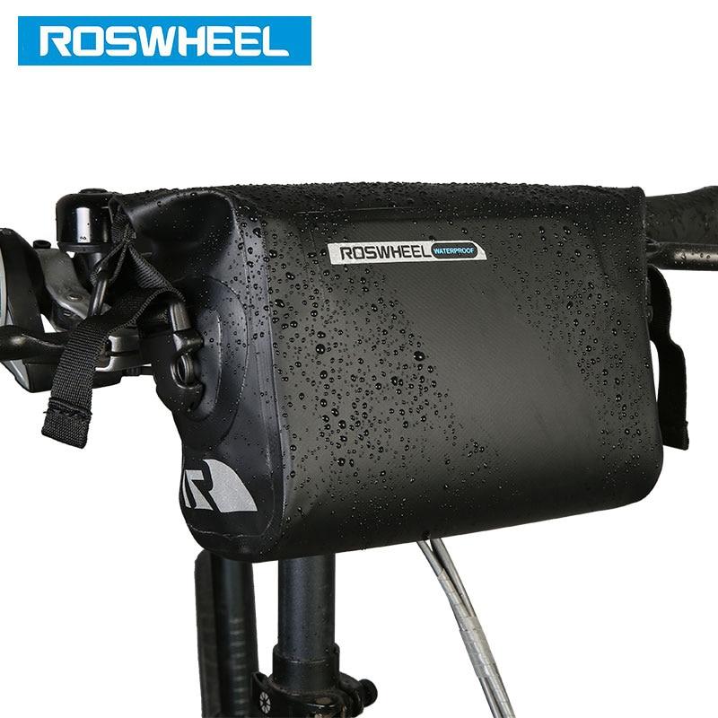 ROSWHEEL DRY # 111361 Volle wasserdichte Fahrradlenkertasche 3L - Radfahren - Foto 3