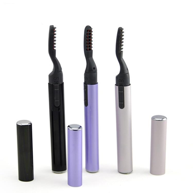 ELECOOL Makeup-Curling-Kit Curler Eye-Lash Heated Perm Portable Women Long-Lasting