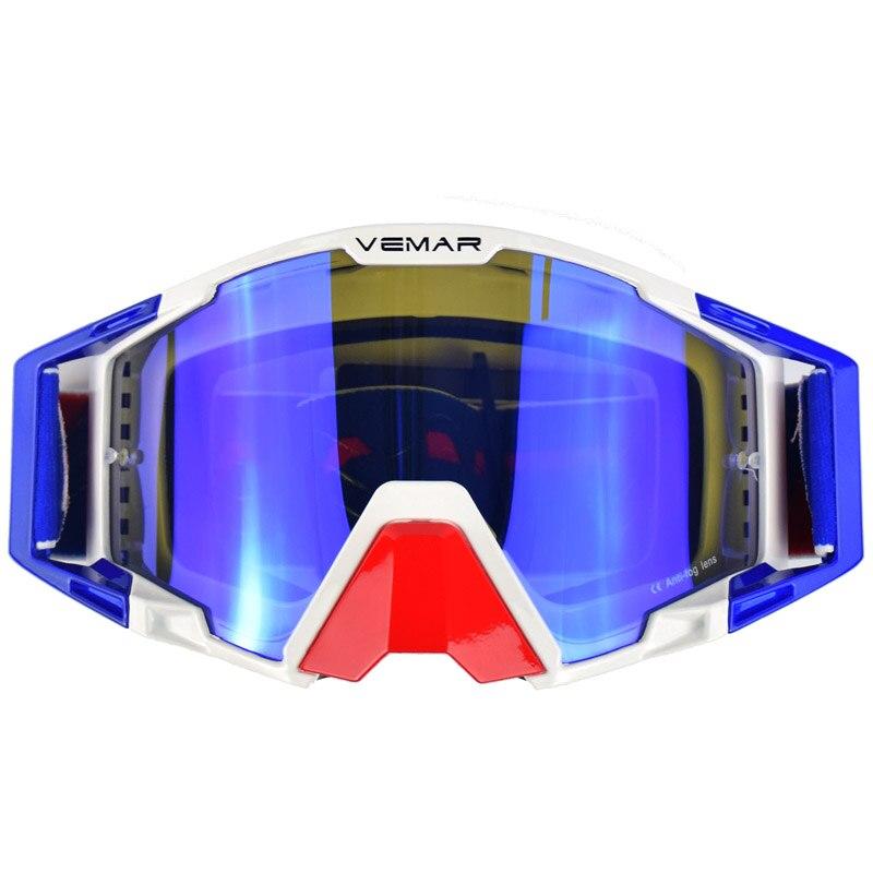 100% Brand New Motorcycle Glasses Mens&Women's Motocross Goggles Dirt Bike MX ATV Motorcycle Helmet Glasses Extreme Sports Gafas