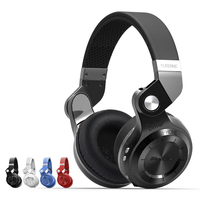 Genuine Bluedio T2S Bluetooth Headset Foldable Wireless Headset with Microphone Music Android Phone
