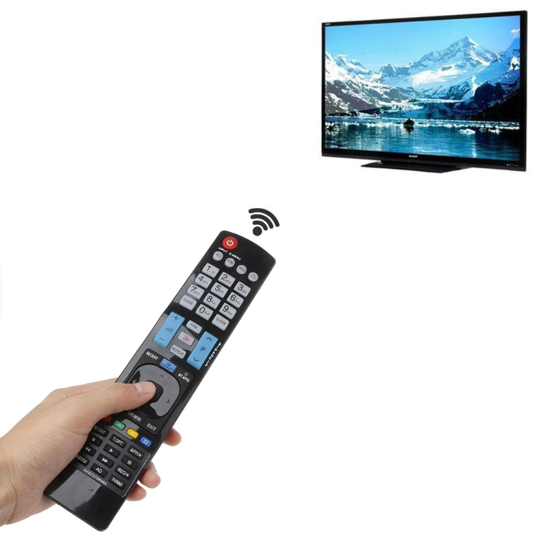 OOTDTY Universal Television Remote Control Replacement For LG AKB73756565 3D SMART APPS TV
