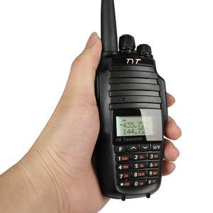 Image 5 - TYT UV8000E כף יד משדר Dual Band 10W צלב band משחזר שחור Tri כוח 3600mA משדר רדיו ווקי טוקי כבל