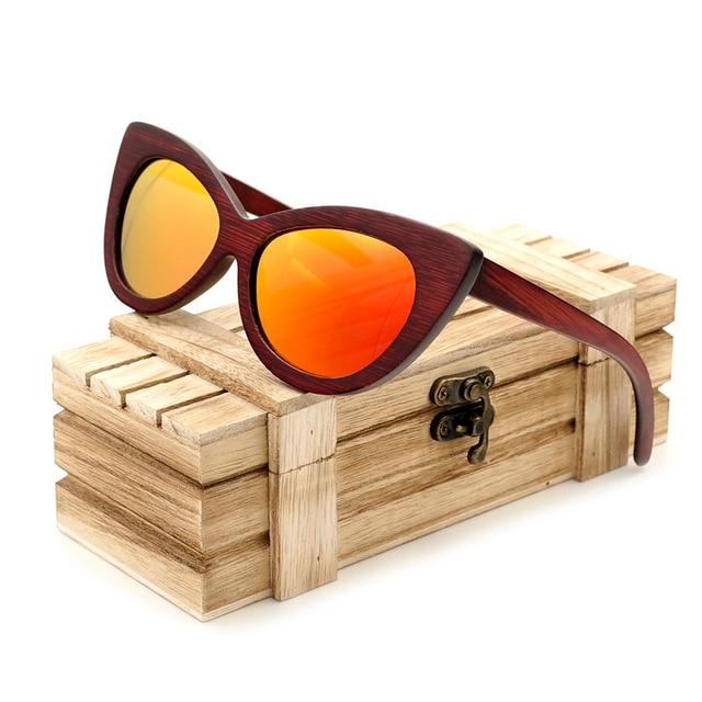 Lolas Wooden Sunglasses by K-OBA Eyewear