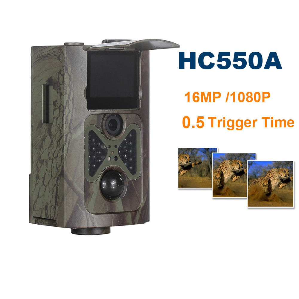 SUNTEK HC550A Hunting Trail Camera HD 1080P Camera Trap 0.5 Trigger Time 12 Languages for Wildlife Trail RecordSUNTEK HC550A Hunting Trail Camera HD 1080P Camera Trap 0.5 Trigger Time 12 Languages for Wildlife Trail Record